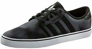 Adidas Seeley Skateboarding Men's Shoes grey/Black/White C76311 New With Box