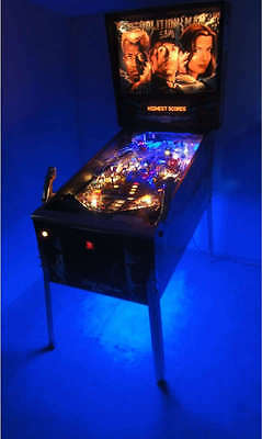 Demolition Man, Fun House, Whitewater, Addams Family Pinball Cabinet