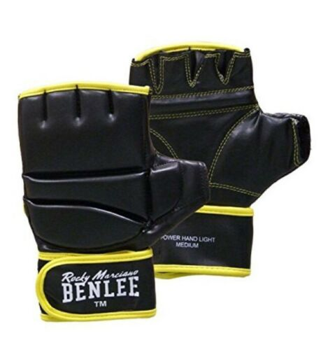 BENLEE boxing gloves power hand light rocky marciano size large brand new