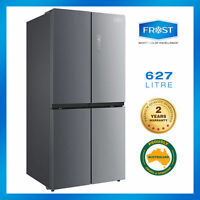 Frost 4 Doors Fridge 627l Stainless Dual Cooling 2017 2yrs Warranty