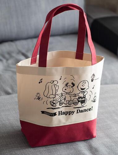 Cute For Snoopy Peanuts Food Fruit Shopping Bag Handbag Schoolbag Lunch Box bag