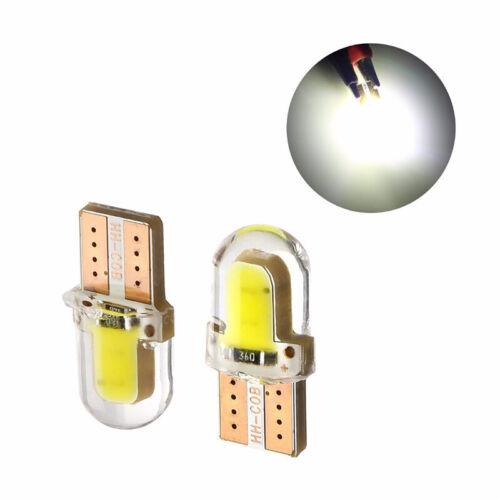 10X LED T10 194 168 W5W COB CANBUS Silica Bright White License Light Bulb L DD