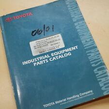 Toyota 7fb 7fbcu 7fbchu Series Forklift Parts Manual Book 15 18 20 25 30 32 List