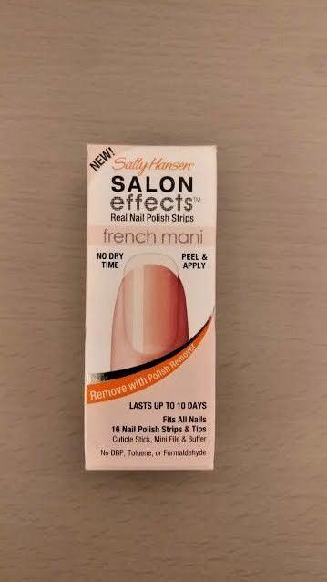 Sally Hansen Salon Effects French Mani Real Nail Polish Strips Excusez Moi 32 Ea Ebay