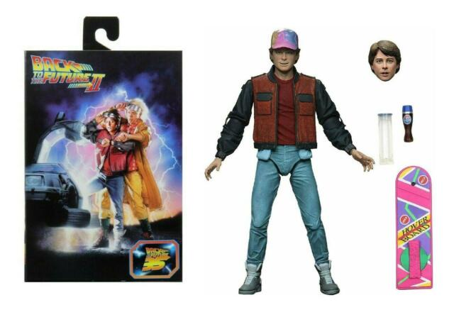 Back To The Future Part II Marty McFly Hoverboard Action Figure - DAMAGED BOX