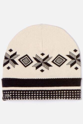 Lacoste Women/'s Metal Croc Patterned Knit Hat in Sisal RB6373 $60 BNWT Authentic