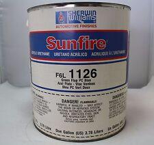Sherwin Williams Sunfire Paint Mixing Toner F6L1126 GS Green flop PC Blue Gallon