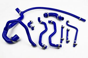 Stoney-Racing-Land-Rover-Discovery-300TDI-Silicone-Coolant-Radiator-Hoses-Blue