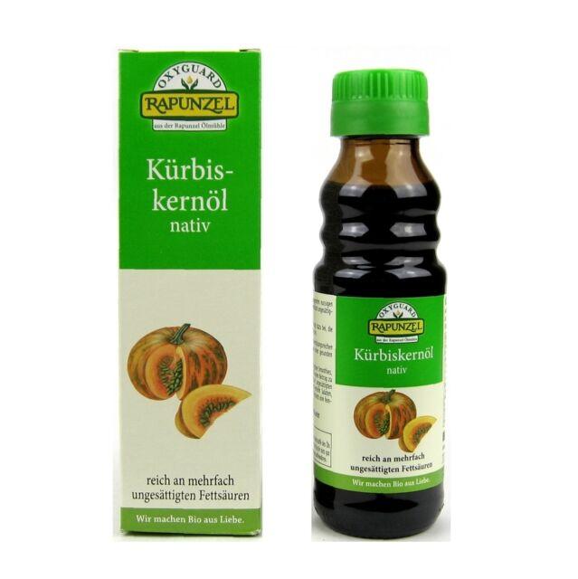 (7,99/ml) Rapunzel Kürbiskernöl nativ vegan bio 100 ml
