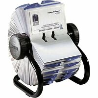 Rolodex Open Rotary Business Card File With 200 2-5/8 By 4 Inch Card Sleeve And on sale
