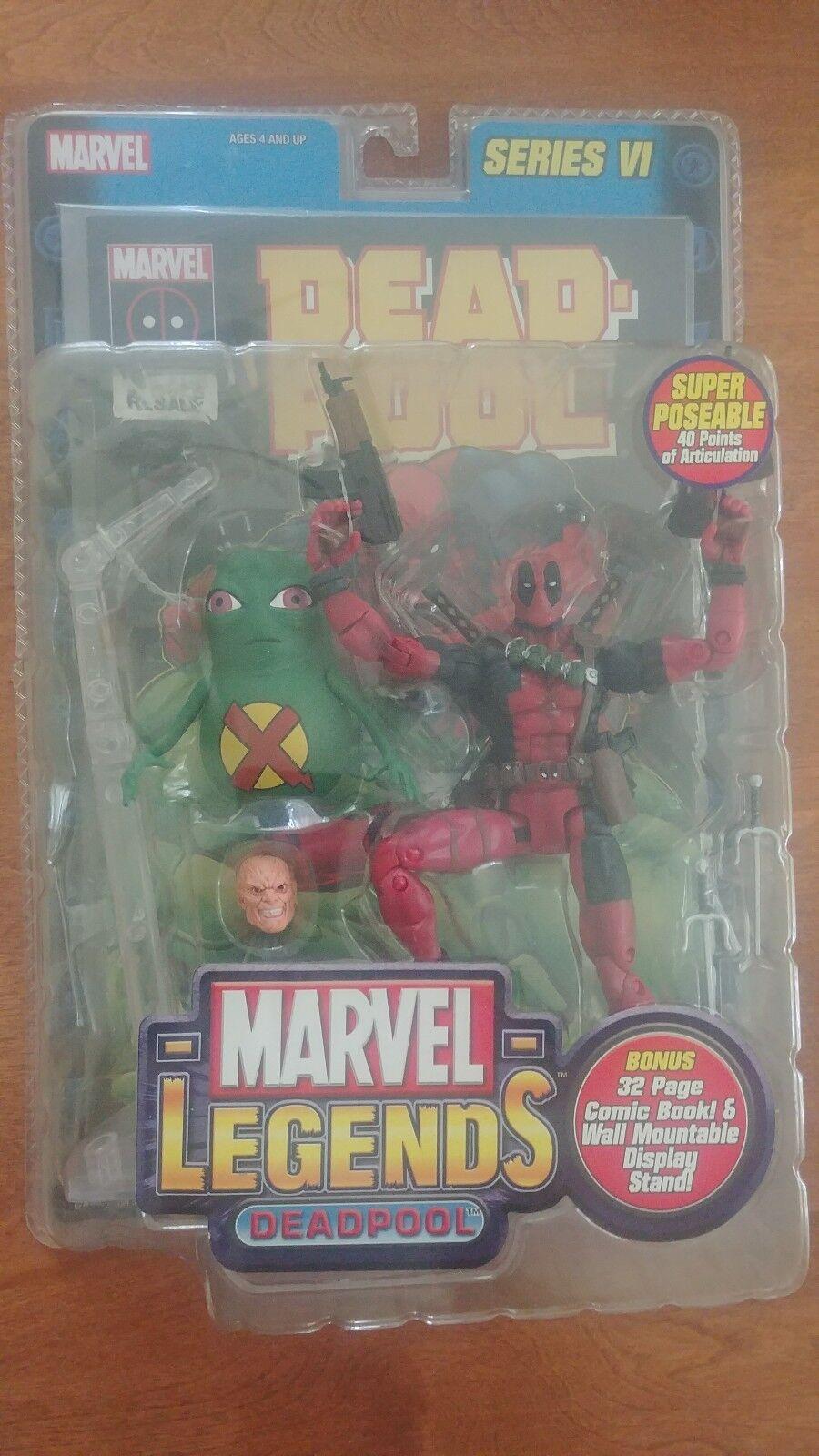 Marvel Legends: Deadpool  Toybiz Series VI 6 2004 New Sealed Action Figure