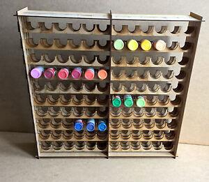 Soporte-de-pintura-Botellero-Para-120-botellas-de-almacenamiento-Warpaint-Vallejo-Warhammer-40k