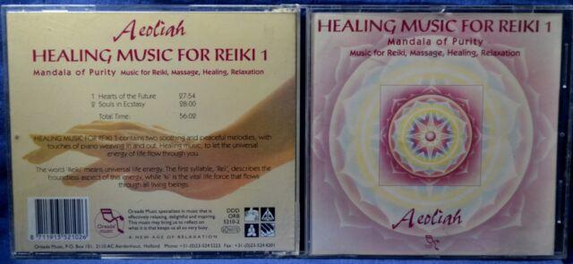 AEOLIAH - HEALING MUSIC FOR REIKI 1  - CD n.6384