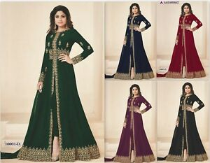 Adaptable Kameez Salwar Costume Bollywood Designer Dress Party Wear Anarkali Wedding Wear Pp-afficher Le Titre D'origine