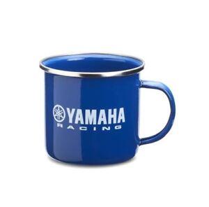 Yamaha Détails Thé Racing Émail Tasse Afficher Le Officiel Sur D'origine Café Bleu Boisson Titre T1JcuFlK3