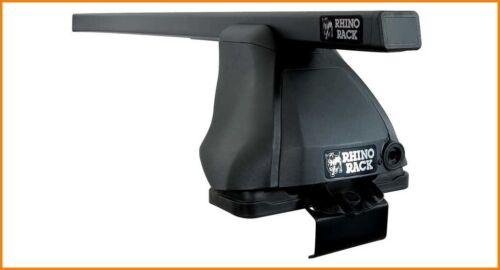 Rhino Euro 2 Bar Roof Rack for NISSAN Micra 12//07-09//10 JA0229