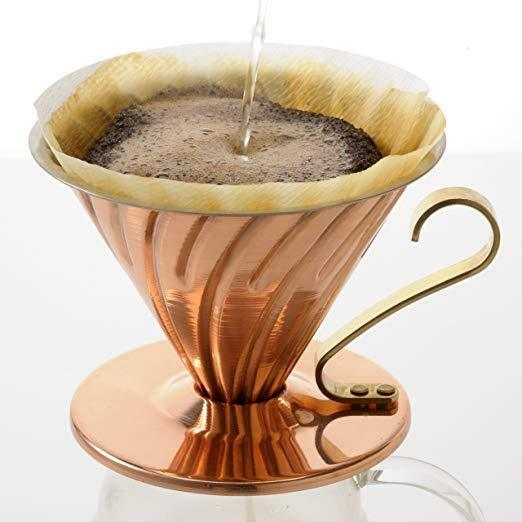 HARIO HARIO HARIO V60 Copper Coffee Dripper 1 to 4 Cups VDP-02CP from JAPAN F S NEW 2bbf8b