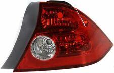Tail Light For 2004 2005 Honda Civic Passenger Side Coupe Fits 2004 Honda Civic