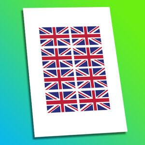 Union-Jack-UK-Gran-Bretagna-GB-Bandiera-Motorsport-Auto-Bici-Moto-Decalcomania-Sticker