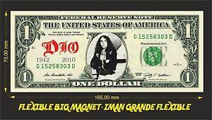 DIO-RONNIE-JAMES-IMAN-BILLETE-1-DOLLAR-BILL-MAGNET