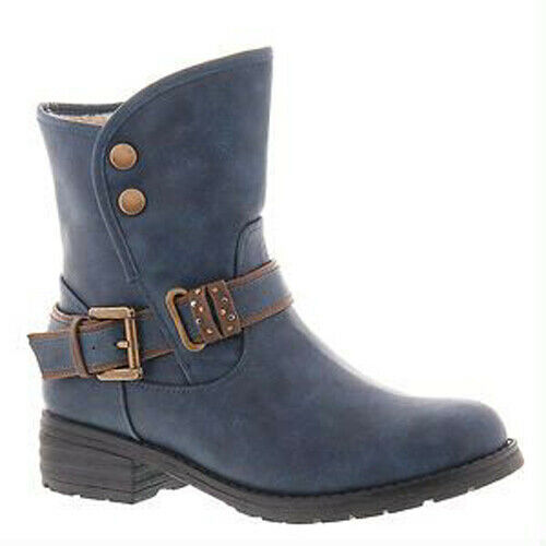 Beacon Canyon insulated navy blu winter stivali belted buckles donna 12