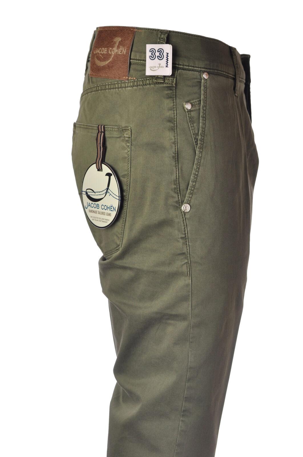 Jacob Cohen - Pants-Pants - Man - Green - 4848202F184711