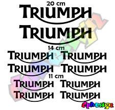 Kit loghi moto Triumph Replica Compatibili stickers adesivi