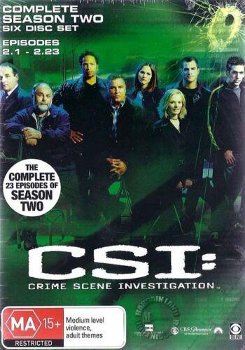 1 of 1 - C.S.I CSI Crime Scene Investigation SEASON 2 : NEW DVD
