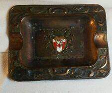 Vintage copper Quebec ash tray, made in Japan