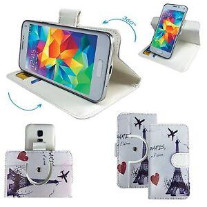 Mobile-Phone-Book-Cover-Case-For-Swipe-Elite-3-Paris-M