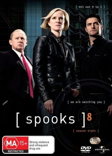 1 of 1 - Spooks : Series 8 (DVD, 2010, 3-Disc Set)