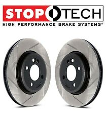 Mitsubishi Lancer EVO X Set of Rear Left & Right StopTech Slotted Brake Rotors