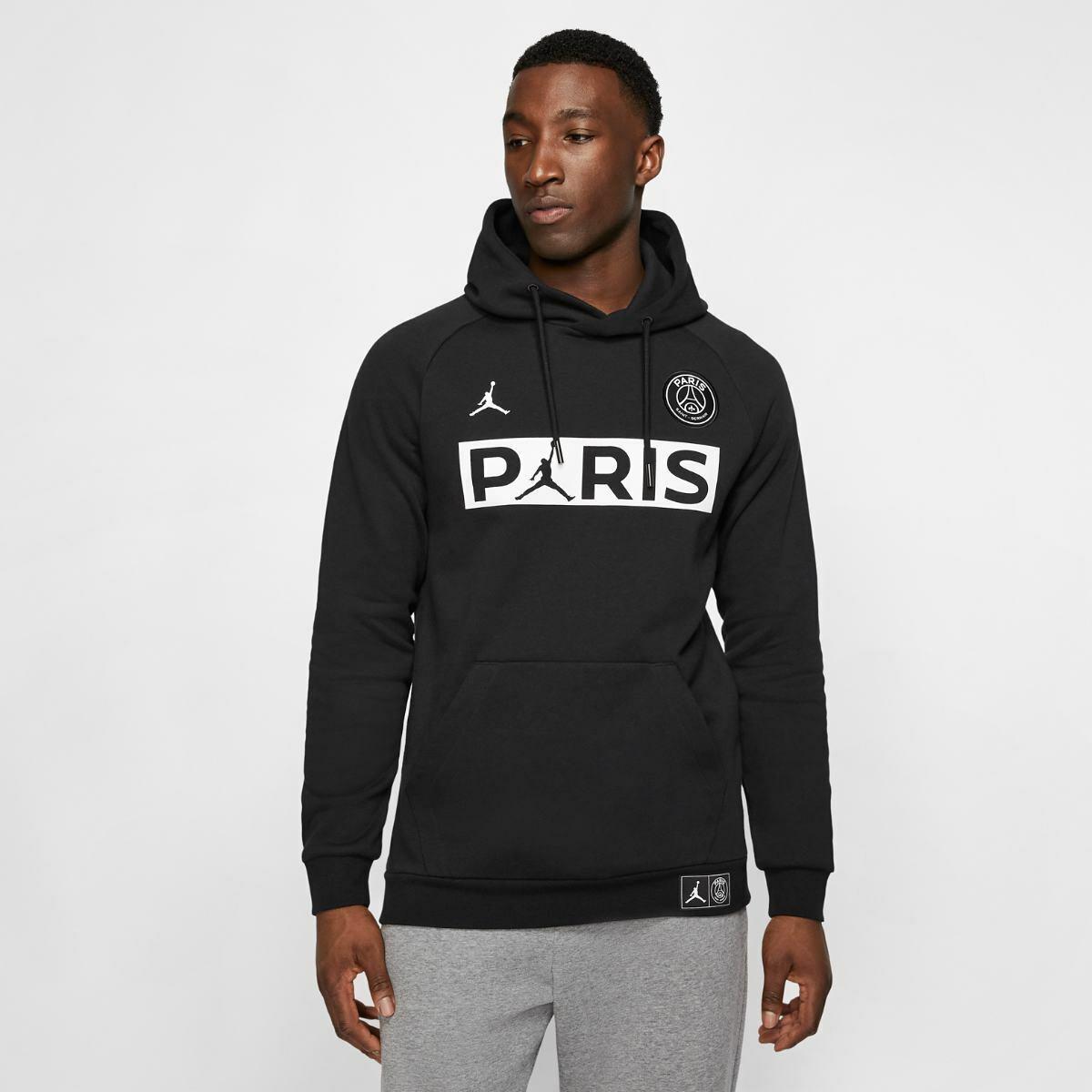 Paris Saint Germain Jumpman Men's Pullover Hoodie
