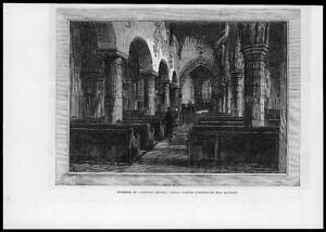 1881-Antique-Print-TYNESIDE-NEWCASTLE-George-Stephenson-Newburn-Church-18