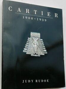 Vintage Cartier jewellery book art deco jewelry design 1900 - 1939 20s 30s