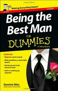 Being the Best Man FD 2e (For Dummies) by Bliss, Dominic 1118650433