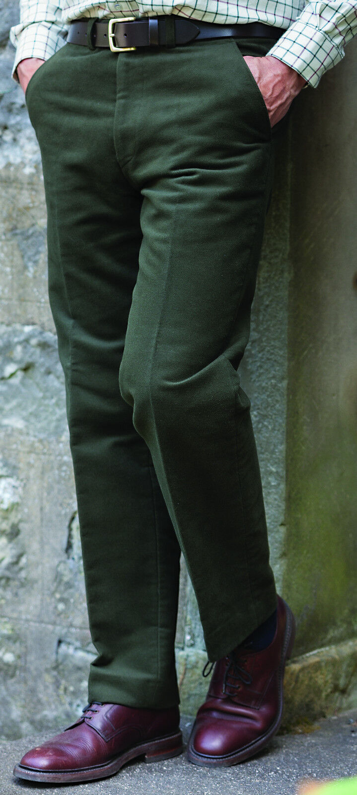 Hoggs of Fife Monarch Moleskin Trousers - Heavy Weight 100% Cotton