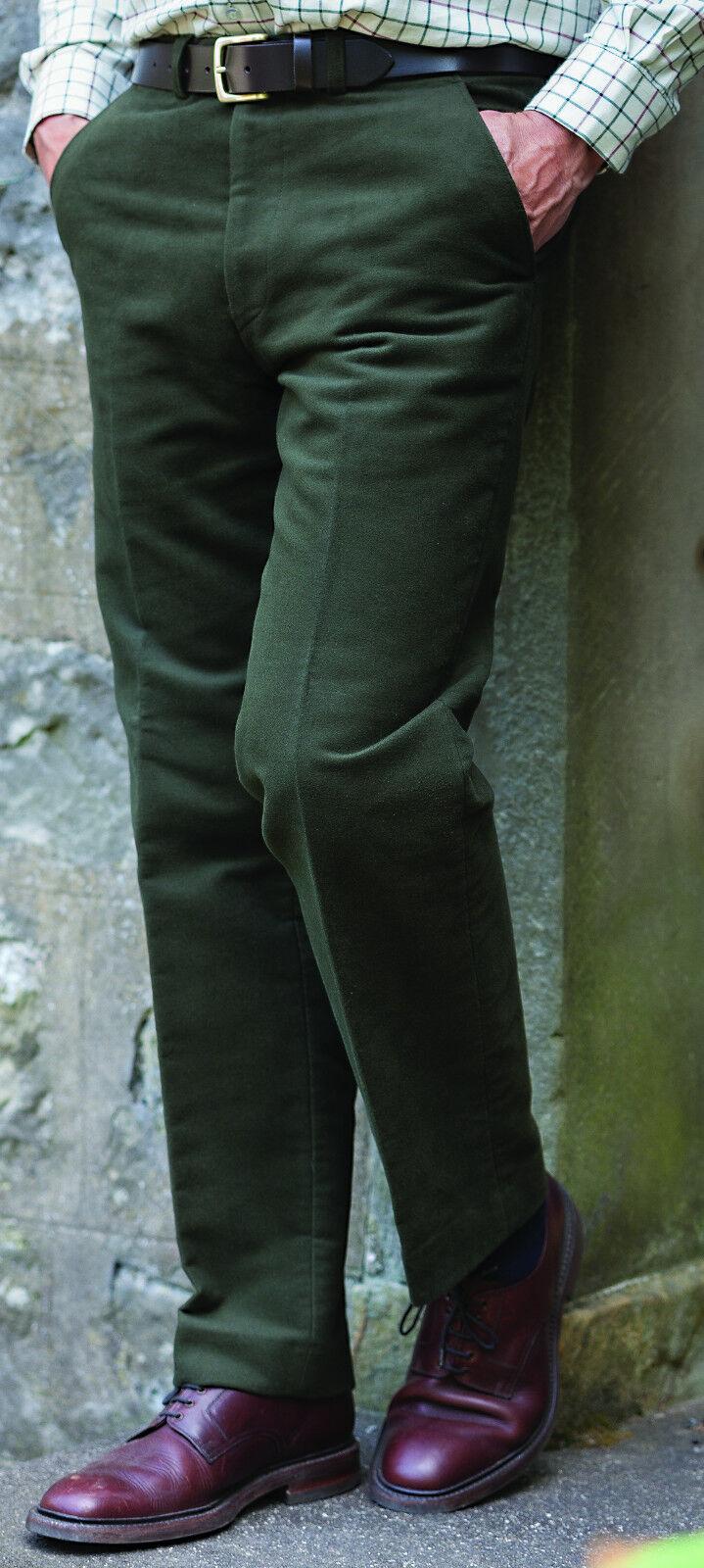 Hoggs of Fife Monarch Moleskin Trousers-peso  pesado 100% algodón  wholesape barato