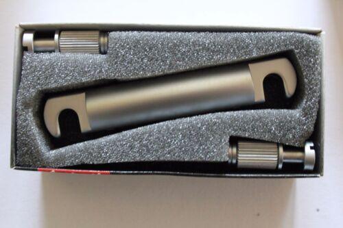 Schaller SC530443 stoptail satin chrom Tailpiece  Gitarrenbau
