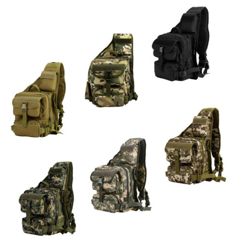 Outdoor Military Tactical Pack Camping Hiking Trekking Chest Shoulder Bag