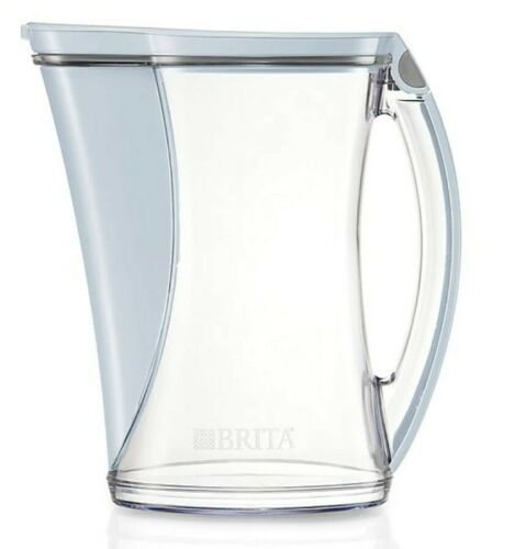 """2 Brita Stream Cascade Filtered Water Pitchers /""""Filter As You Pour/"""" 12C 12 Cup"""