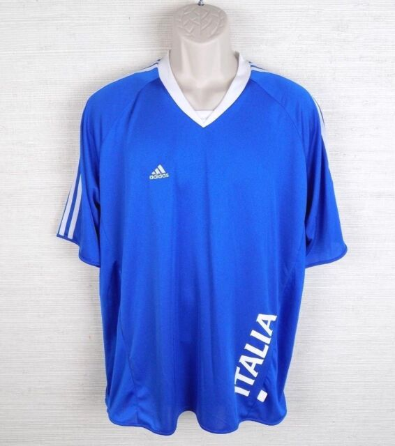 09b7be8e81 adidas Soccer Jersey ITALIA 2006 FIFA World Cup Germany Size Large ...