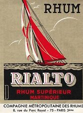 R161 RHUM RIALTO MARTINIQUE 8 RUE DU PARC ROYAL PARIS