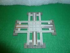 LEGO TRAIN TRENO EISENBAHN ZUG 7857 12V CROSSING ELECTRIC RAILS INCROCIO