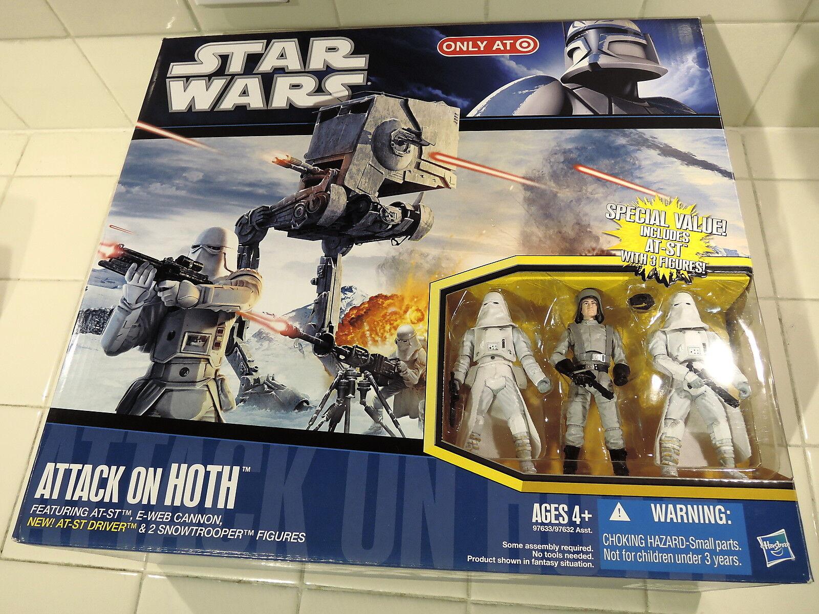2010 Star Wars Objetivo Tesb Ataque Hoth Armar At-St Conductor