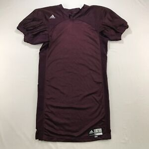 Details about Adidas Football Practice Jersey Size L Maroon