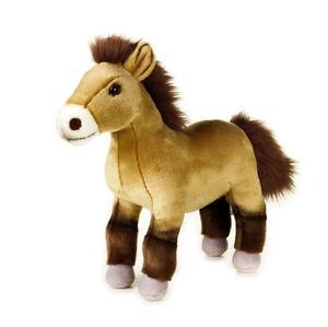 Horse-Przewalski-soft-plush-toy-10-034-25cm-stuffed-animal-National-Geographic-NEW