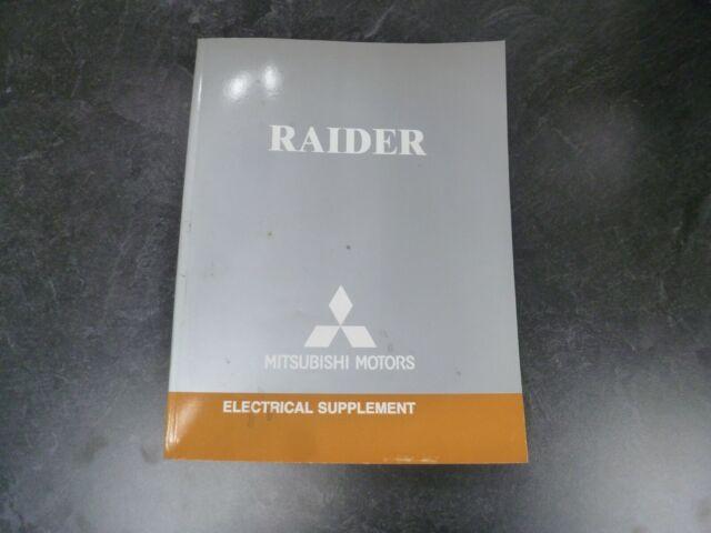 2006 Mitsubishi Raider Truck Electrical Wiring Diagrams