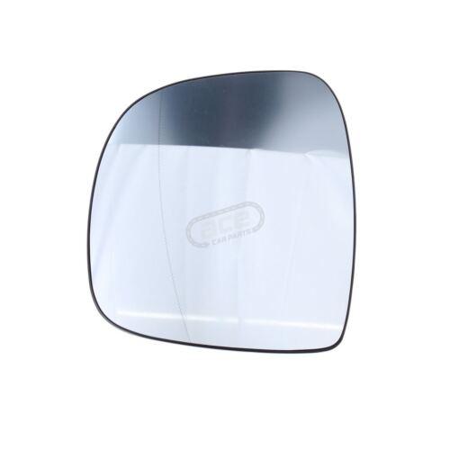 Mercedes Vito W639 Van 2003-2//2011 Heated Aspherical Mirror Glass Passenger Side