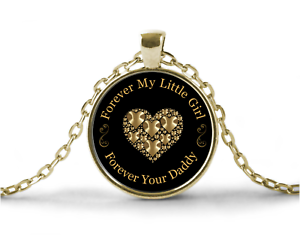 Father daughter necklace and pendant jewelry gift to my daughter image is loading father daughter necklace and pendant jewelry gift to aloadofball Choice Image